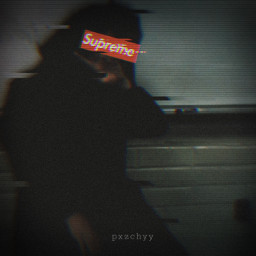 supreme cool edgy dark freetoedit