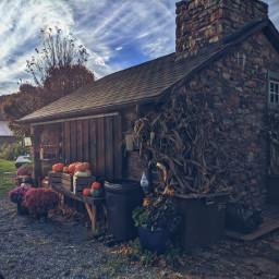 cottage fall farm familytime pumpkins