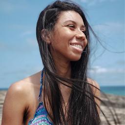freetoedit beach pcportraiture portraiture myphoto pchalffaced halffaced
