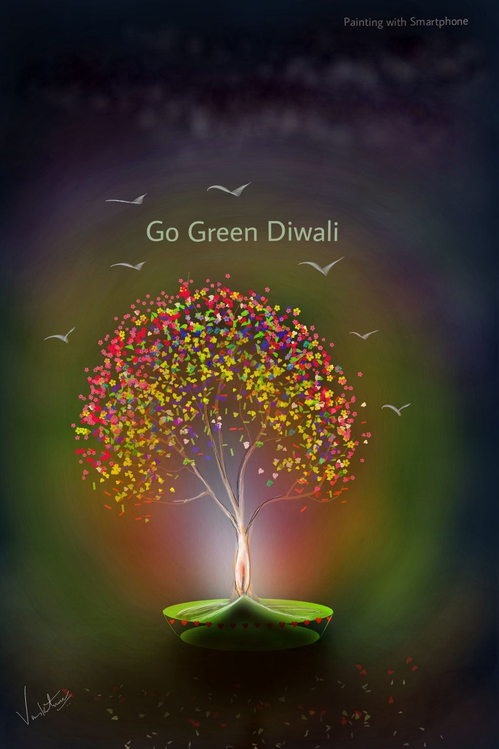 #drawing #share #celebrate #nature #diwali