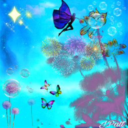 freetoedit nature flowers stars skyandclouds myeditoffreetoedit