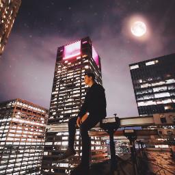 freetoedit moon buildingphotography streetstyle