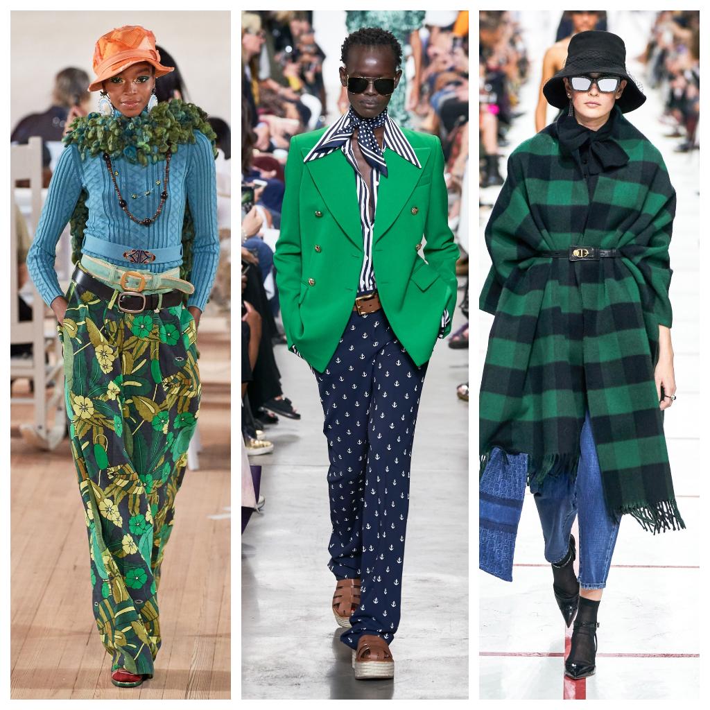 Michael Kors весна-лето 2020, Marc Jacobs весна-лето 2020, Dior осень-зима 2019