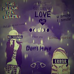 sad love yandere senpai heartbroken freetoedit
