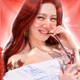 kpop red joy ibispaintx gg