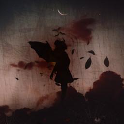 freetoedit terror halloween blackgirl demongirl