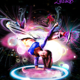 freetoedit colourfull abstract dance fantasy