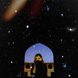 freetoedit galaxy starrysky stars moon irccalmness