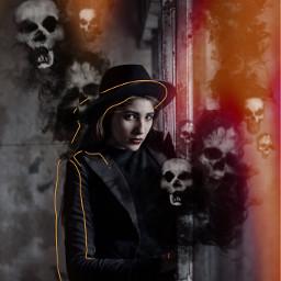 freetoedit spooky halloween halloween2019 halloweenedit