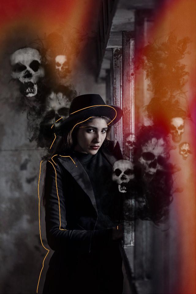 #freetoedit #spooky #halloween #halloween2019 #halloweenedit #skullface #masks #smokeeffect #sketcheffect