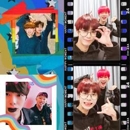 rainbow monsta hyungwonho freetoedit