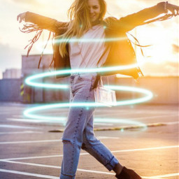 freetoedit spiral girl sunlight sunshine
