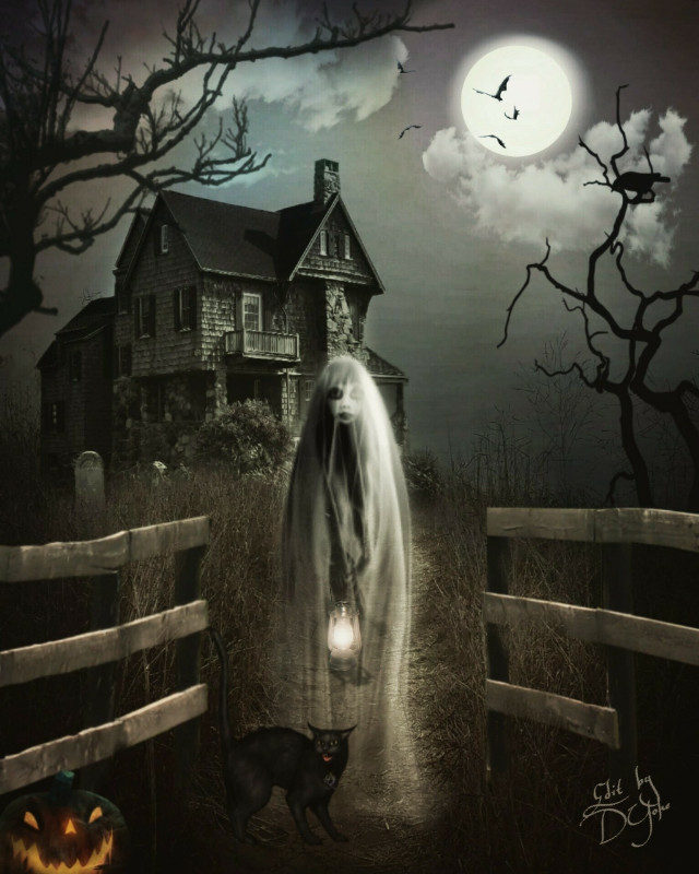 #freetoedit, #haunting, #ghostly, #halloweenfun, #dark, #holloweenedit, #myedit, #clipart, #fxeffects