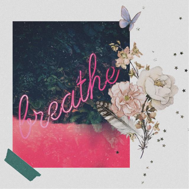 #freetoedit #breathe #aesthetic #collage #beige