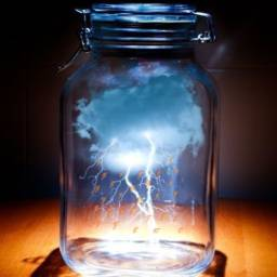 freetoedit rayo jar clouds stickerspopulares srclightning
