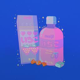 snacks aesthetic milk cute colourful