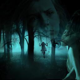 innocent childhood past darkpast shadows freetoedit