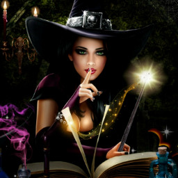 freetoedit witch witchinghour spellbook