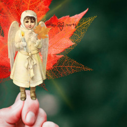 freetoedit mary_love_hearts angel coldweather automn ircfallmood