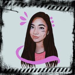 drawing dibujo girly myself freetoedit