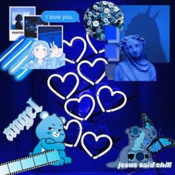 blue aestheticblue aesthetic blueaesthetic freetoedit