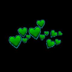 greenheart green heart greenheartcrown freetoedit