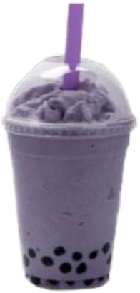 purple boba drink freetoedit