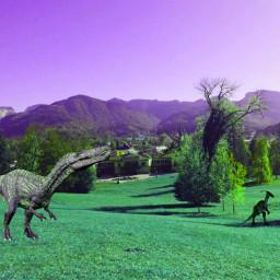 sighting dinosaur parasaurolophus suchomimus 1989 freetoedit