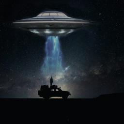 freetoedit space ufo alienabduction madewithpicsart