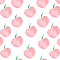 freetoedit peaches pink wallpaper fruit