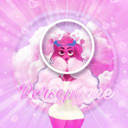freetoedit loreolympus webtoon persephone pinklight