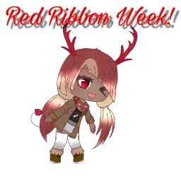 freetoedit redribbonweek week red ribbon