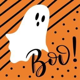 7: ghost boo halloween2019 halloweenart freetoedit