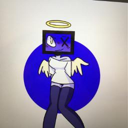 cute angel art adopt drawing