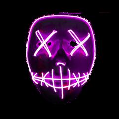 halloween mask purge neon freetoedit