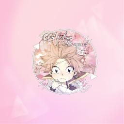 freetoedit anime natsu grayfullbuster pink
