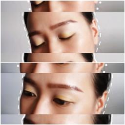 eyemakeup eyeshadow playwithmakeup yellow surprisesglobal