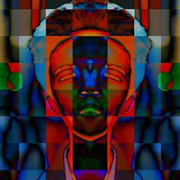 freetoedit faceart abstractart mirroreffect pixeleffect