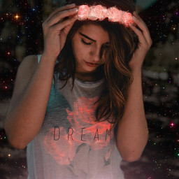 shine light dark pink luminous freetoedit