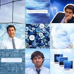 freetoedit blue jimhalpert grid theoffice