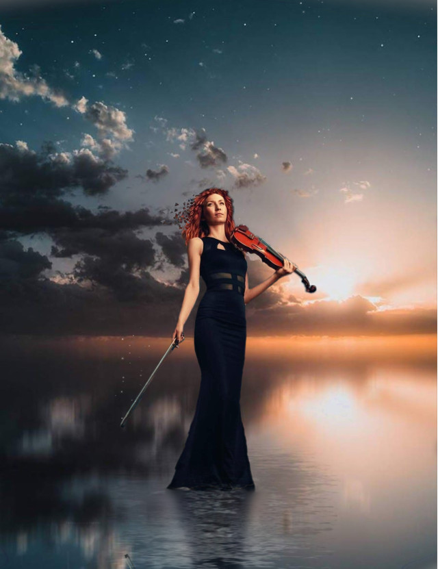 Express your inner self... #beauty  #music  #violin  #sunset  #peacefull  #peaceofmind  #talented  #wallart  #sea  #reflection  #dispersioneffect  #smooth  #myedit  #madewithpicsart  #madewithlove  #colorfull  #musiclovers  #freetoedit