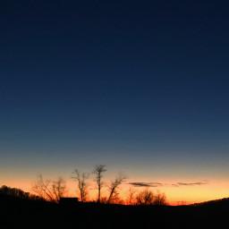 freetoedit sunset bluesky bluehour goldenhour pcbluehour