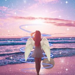 freetoedit lovely wingsofanangel