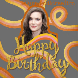 freetoedit happybirthday winonaryder beetlejuice friends