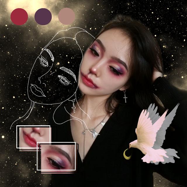 #freetoedit #picsart #edit #makeup #halloween