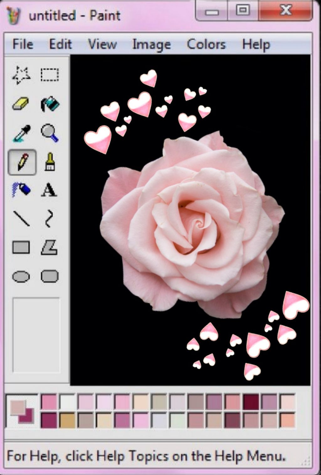 #freetoedit #error #aestetic #rosesarebeautiful #pink