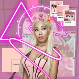 freetoedit jessi pink aestetic kpop