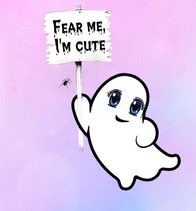 #freetoedit #kawaii #ghost #editedbyme #cutenessoverload