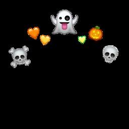 halloween crown emoji wattpadcover freetoedit