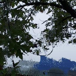 pioggia automobile vetro ottobre